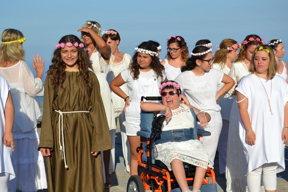"""""""Facitimi sta grazia"""": il video omaggio a S. Rosalia a tema inclusione all'interno del progetto """"Non solo assistenza: costruzione di una rete di sostegno per la disabilità"""""""