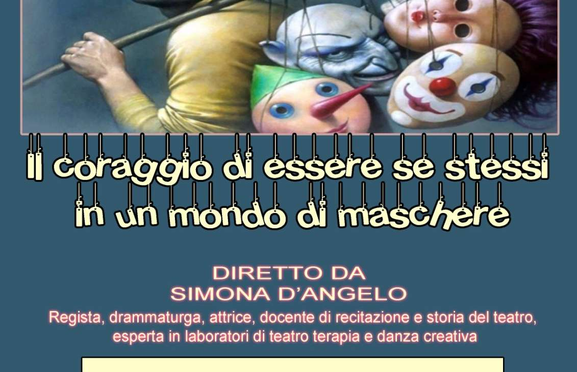"""Workshop di teatro creativo all'interno del progetto """"Non solo assistenza: creazione di una rete di sostegno per la disabilità"""""""